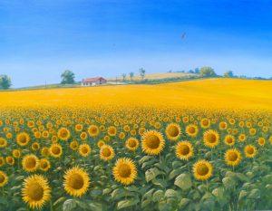 Oil Painting By Nicholas Lewis Artist