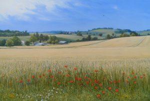 Summer Wheat by NIcholas Lewis