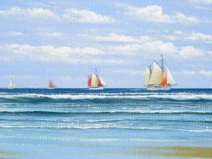 Oil {painting by Nicholas lewis